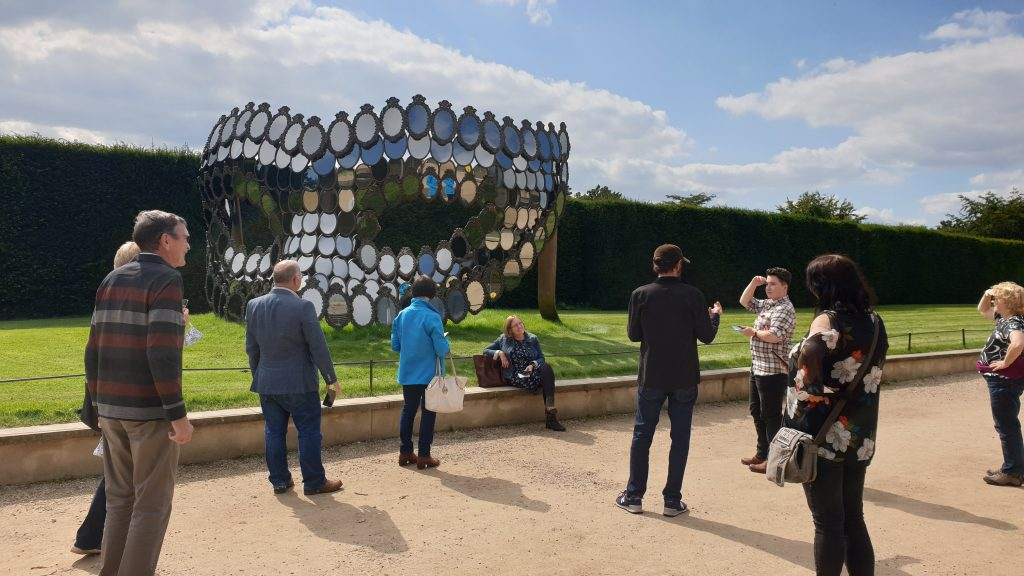 Stairfoot steering group on site visit to YSP