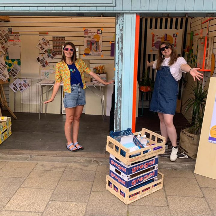 Art for the Temporary Market – Dewsbury